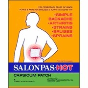 Hot patches work well for many kinds of pain.